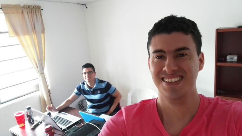 Sebastian Rozo y Andrés Sucerquia fundadores Escuela Didáctica